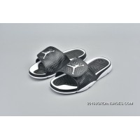 Air Jordan AJ5 Series Slides Black White Women Shoes And Men Shoes 820257-011 New Release
