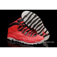"2019 Latest Air Jordan 10 ""Gym Red"""