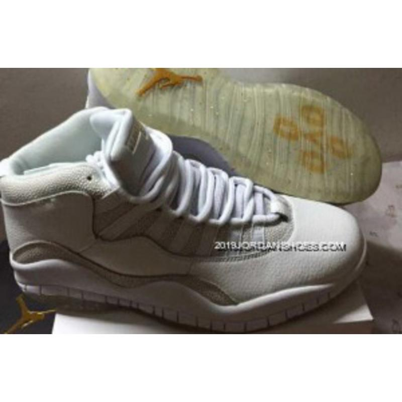 "sneakers for cheap 6b46f ce541 2019 Top Deals Air Jordan 10 Retro ""OVO"" Summit White Shoes ..."
