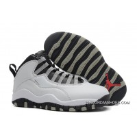"2019 New Year Deals Air Jordan 10 Retro ""Steel"""