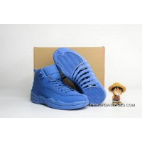 "Air Jordan 12 ""Blue Suede"" 2019 Best"