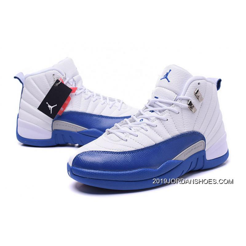 "025aff67759029 ... 2019 Top Deals Air Jordan 12 Retro ""French Blue"" ..."