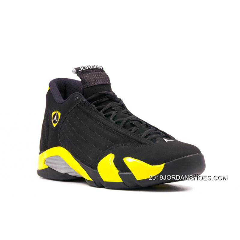 "2019 New Style Air Jordan 14 Retro ""Thunder"" ..."