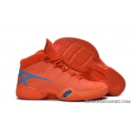 2019 Best Air Jordan 30 XXX Playoffs Orange Blue PE