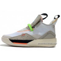 Air Jordan 33 Vast Grey/Cone-Sail-White AQ8830-004 Outlet