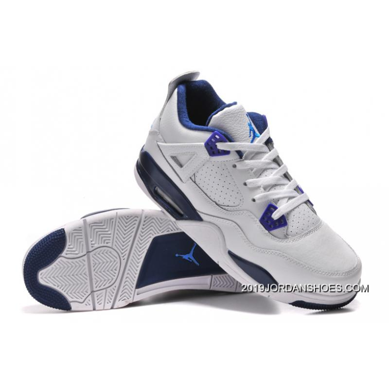"the best attitude 67722 cdf1c Air Jordan 4 Retro ""Columbia"" White/Columbia Blue-Midnight Navy 2019 New  Year Deals"