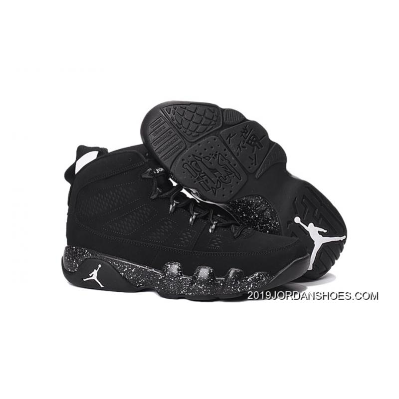"finest selection 4304d 9cc5c 2019 New Style Air Jordan 9 ""Anthracite"" Anthracite Black-White ..."