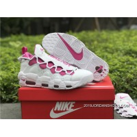 Women/Men Super Deals Sneaker Room X Nike Air More Money White / Pink