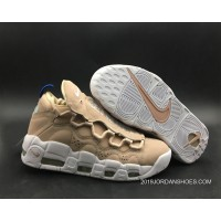 Women Nike Air More Money WMNS Particle Beige White Best