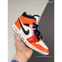 Top Deals 280 All FULL GRAIN LEATHER Nike Jordan 1 Mid Fearless AJ1 Daikin Watch Orange Green What The Casual Shoes Blue Ball After 08 Xhlxd22 Size 36 45 Companies In 19-12-29