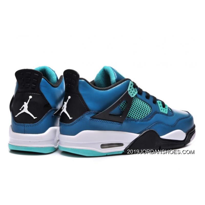 7b70d8dc3ba9 air jordan 4 retro teaser teal black white
