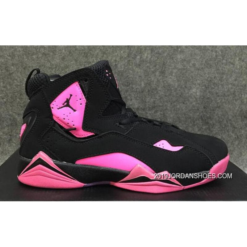 sale retailer 8dd15 dd0d9 Air Jordan 7 GS Pink Black 2019 Latest ...