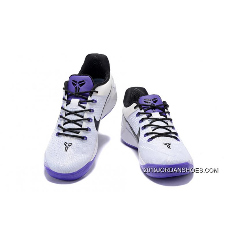 c5e844681aa0 ... 2019 New Release Girls Nike Kobe A.D. White Black Purple ...