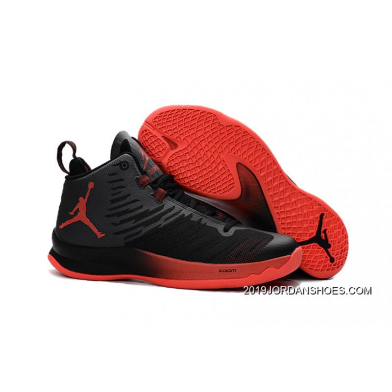pretty nice bc236 6127d New Jordan Super.Fly 5 Black Infrared 23 Infrared 23 2019 New Style ...