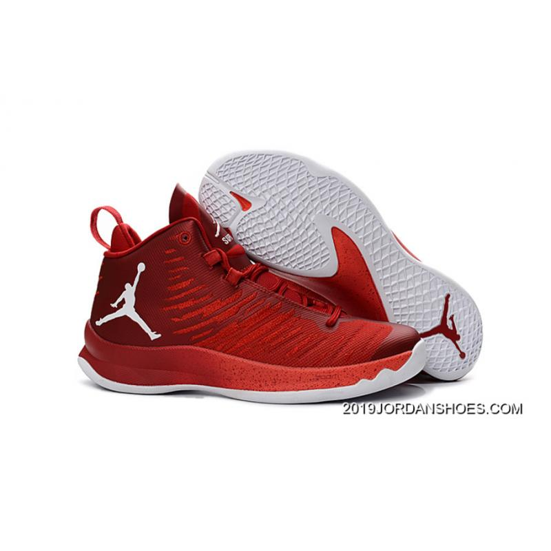 0215df1deab 2019 Latest New Jordan Super.Fly 5 Gym Red Infrared 23 White ...