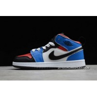 "Outlet Kid's Air Jordan 1 Mid ""Top 3"" 554724-124 SKU:131089-932"