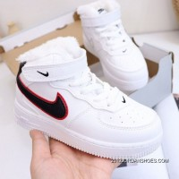 Kids Air Force 1 High Sneakers SKU:137291-240 2020 New Style