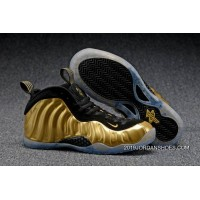 "2019 New Year Deals Nike Air Foamposite One ""Metallic Gold"""