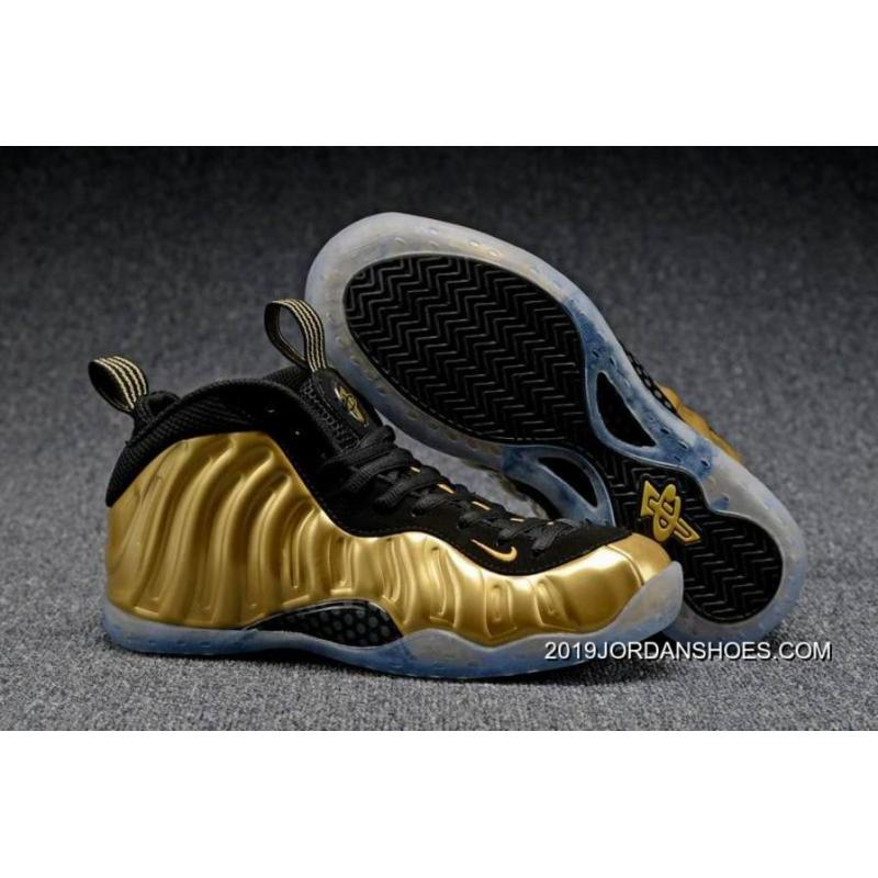 "premium selection 29d2d f75bc 2019 New Year Deals Nike Air Foamposite One ""Metallic Gold"""