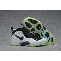 2019 For Sale Nike Air Foamposite Pro Pearl White Black-Teal