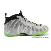 "Nike Air Foamposite One ""Silver Camo"" Metallic Silver/Volt-Black-Cool Grey Sale 2019 Online"