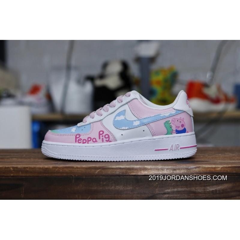 the latest bdb36 145da Top Deals Nike Air Force 1 X Pig Page Paul George Red PG Network Spoof To  Be Customized