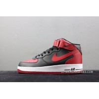 Men Nike Air Force 1 Mid 07 Basketball Shoes SKU:265056-346 2020 Newest Style