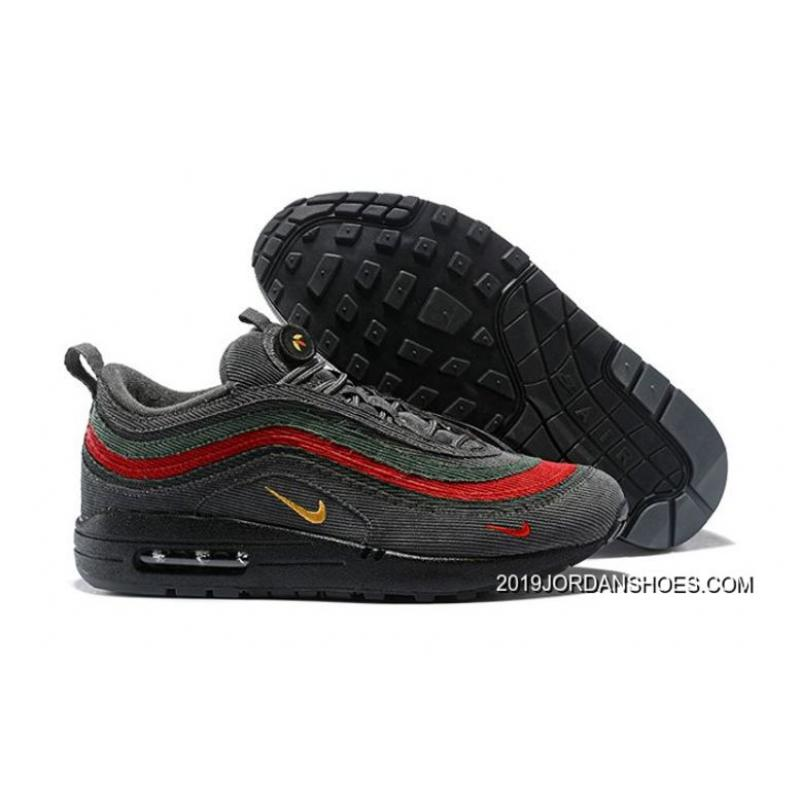 78d2f095f0 New Style Men Sean Wotherspoon Nike Air Max 97 Hybrid SKU:32536-329 ...