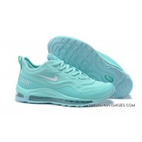 2020 New Style Nike Air Max 97 UL'17 SE Moonlight Blue-White Women's Resistant Breathable Sneakers SKU:208626-124