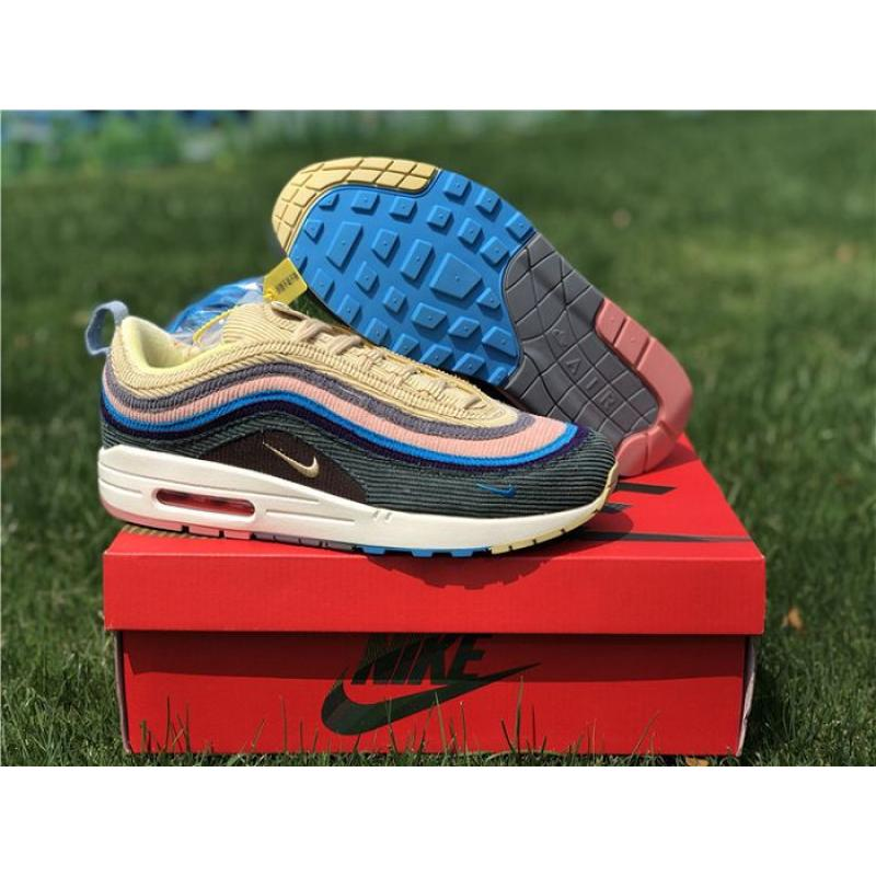 e3f32661109bc0 Men Sean Wotherspoon Nike Air Max 97 Hybrid SKU 87388-288 Best ...