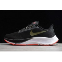 Discount Nike Air Zoom Pegasus 37 Black Olive Crimson BQ9646-004