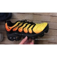 New Release Nike Air VaporMax TN Vascular 2018 Plus Black Yellow