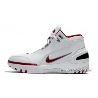 Nike Air Zoom Generation White/Varsity Crimson-Silver 308214-161 Free Shipping