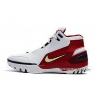 "Nike Air Zoom Generation ""First Game"" White/Midnight Navy-Varsity Crimson 941911-100 Free Shipping"