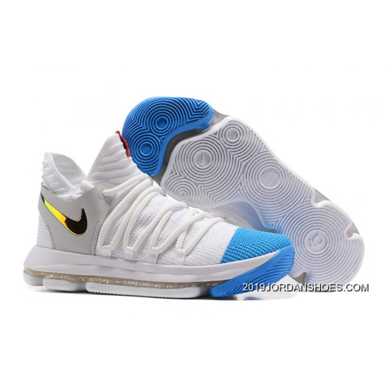 580ccc22aa39 cheapest 1802 nike zoom kd 10 lmtd ep men 1cea5 4bb81  50% off free  shipping nike kd 10 white blue gold a8735 da3c6