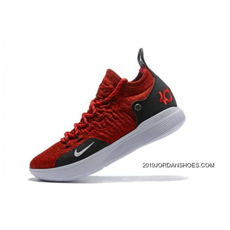 22a3e9d51956 ireland latest nike kd 11 university red black white mens basketball shoes  big discount d9728 7a97f