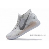 "Tax Free Nike KD 12 ""Wolf Grey"" White/Black-Wolf Grey AR4229-101"
