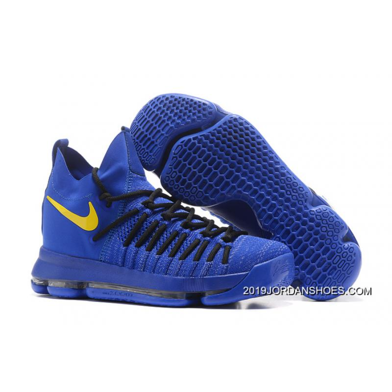 Nike Kd 9 Elite Royal Blue Yellow Black TopDeals