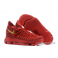 low priced 5d3a4 035e1 Nike Zoom KD 9 Elite Varsity Red Gold 2019 Online