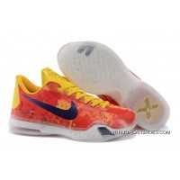 "Kobe 10 ID ""Sgt. Mamba"" Yellow/Multi-Color 2019 New Year Deals"