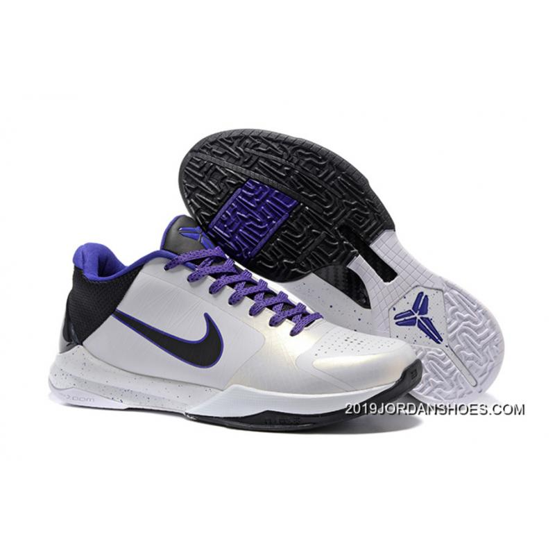official photos 294d0 a9e00 ... norway nike zoom kobe 5 white black purple 2019 for sale d61e5 f3fd4