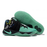 Nike Kyrie 2 Mint Green/Black Glow In The Dark Sole 2019 New Style