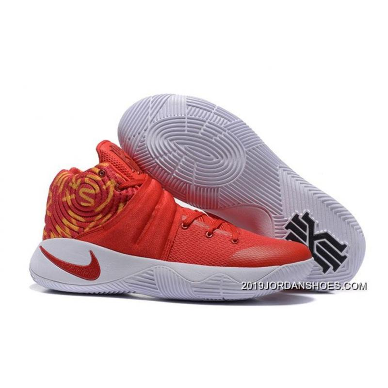 e4e56fff38ee9 Nike Kyrie 2 Red White Basketball Shoes 2019 Top Deals, Price ...