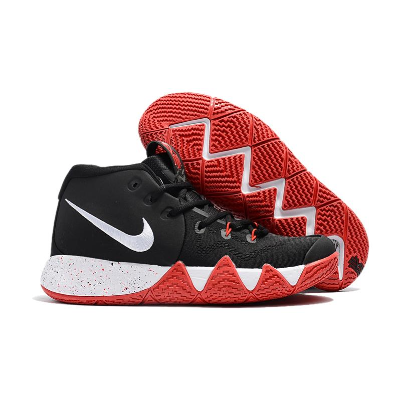 6e53edf237b New Release Nike Kyrie 4 Black Red-White ...