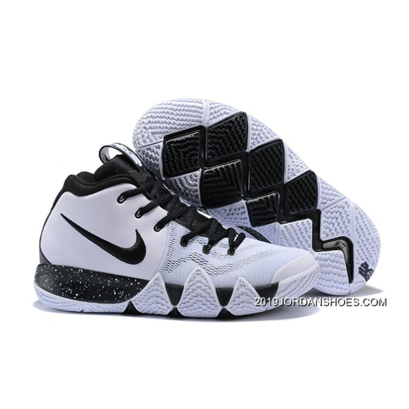 newest 6c118 5f0bb Top Deals Nike Kyrie 4 White Black ...
