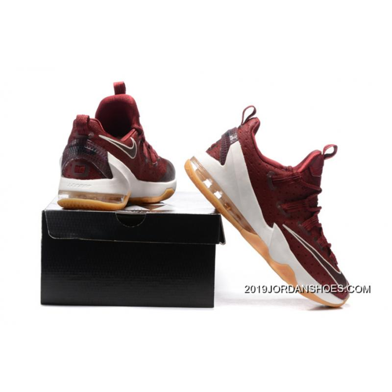"new arrival df0d0 17e8d ... Nike LeBron 13 Low ""Cavs"" Team Red Sail-Black 2019 New Release ..."