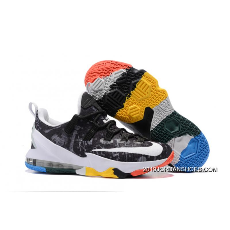 "low priced d3874 61884 2019 New Release Nike LeBron 13 Low ""LeBron James Family Foundation"" ..."