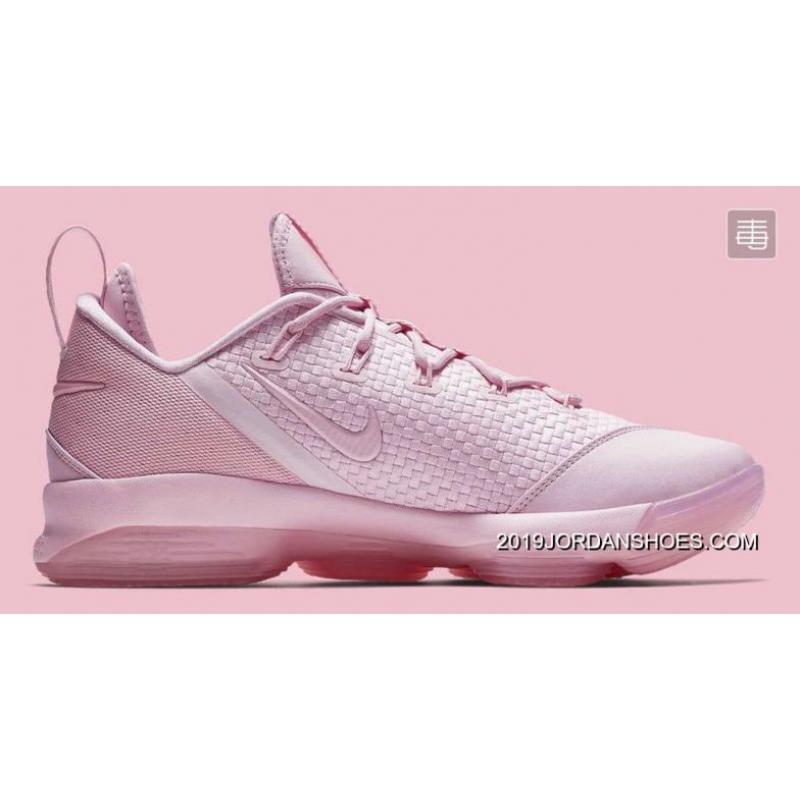 Nike LeBron 14 Low Prism Pink 878635600 Best