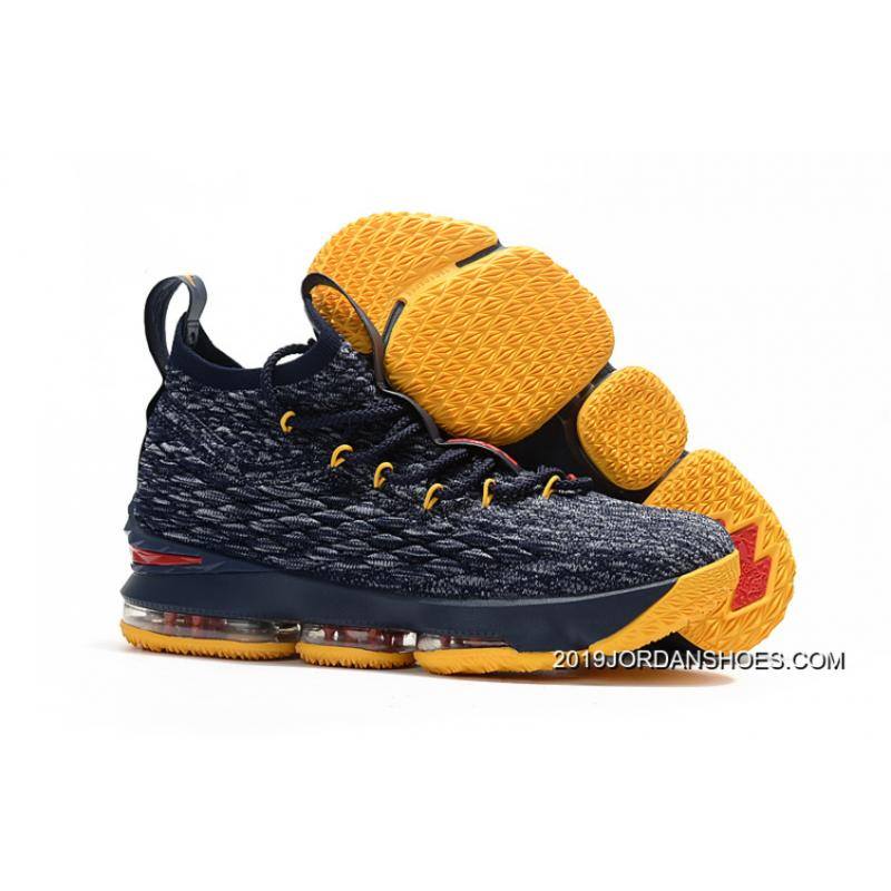 d68c317ffb7 2019 Super Deals Nike LeBron 15 Black Yellow-Red Shoes ...