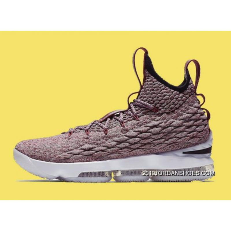 best website 0d2c5 11c65 Online Nike LeBron 15 Red Flyknit